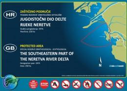 Jugoistočni dio delte rijeke Neretve
