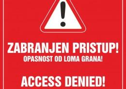 Ploča zabrane u Trstenom