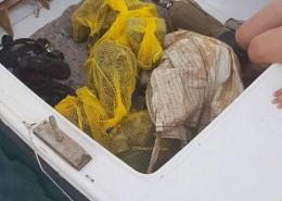 Prikupljeni morski otpad