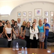 prvi radni sastanak projektnog tima i suradnika