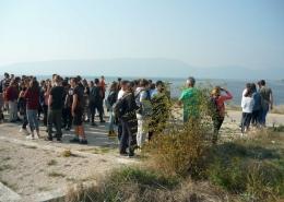 Učenici na promatračnici Galičak