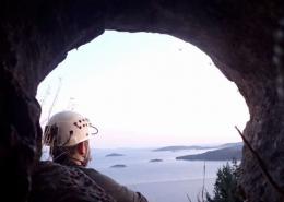 Pogled iz Čagjine jame, foto Filip Šarc