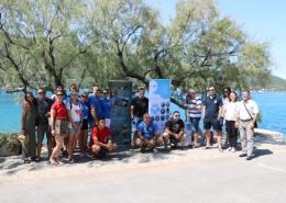 Prvi dan javnog izlaganja projekta ECOSS i akcija čišćenja podmorja