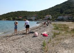 Drugi dan javnog izlaganja projekta ECOSS i akcija čišćenja plaže