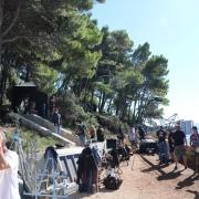 Filmski set na Maloj Petki