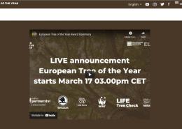 Najava proglašenja pobjednika ESG 2021