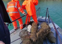 Uklanjanje neoznačenog ribolovnog alata