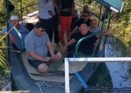 Uklanjanje inazivne strane vrste raznolisni krocanj u Kutima